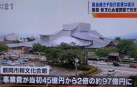 鶴岡市文化会館問題 テレビ報道